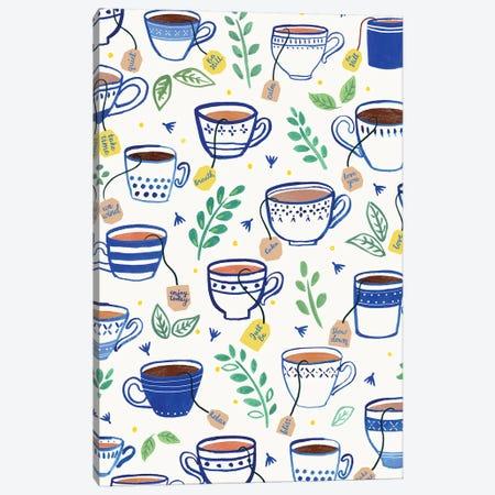Home Blue Kitchen VI Canvas Print #NMK38} by Nancy Mckenzie Canvas Art Print