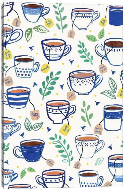 Home Blue Kitchen VI Canvas Art Print