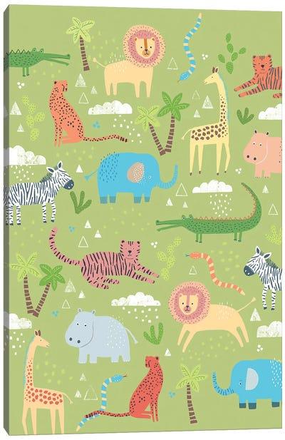 Jungle Chums III Canvas Art Print
