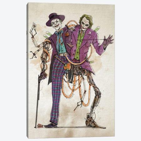 Rusty Duplos :: Jokers Canvas Print #NMT10} by Nico Di Mattia Canvas Artwork