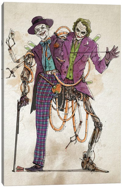 Rusty Duplos :: Jokers Canvas Art Print