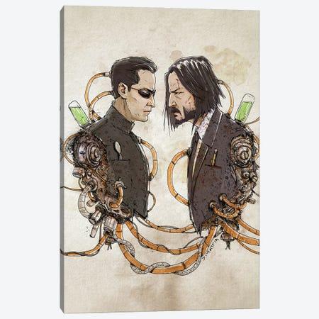 Rusty Duplos :: Neo Wick Canvas Print #NMT12} by Nico Di Mattia Canvas Artwork