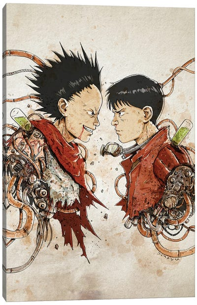 Rusty Duplos :: Tetsuo Kaneda Canvas Art Print