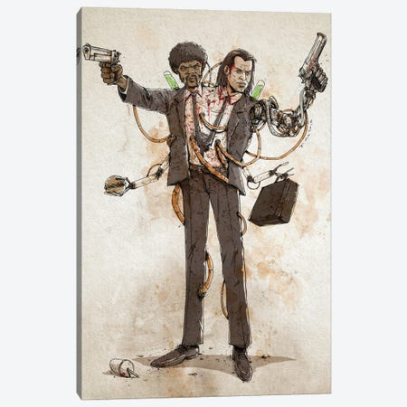 Rusty Duplos :: Vincent & Jules Canvas Print #NMT15} by Nico Di Mattia Canvas Print