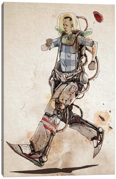 Rusty Gump Canvas Art Print