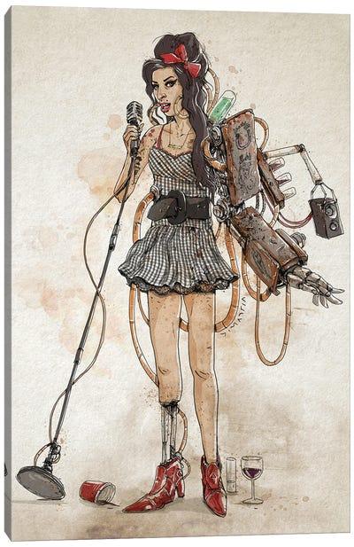 Rusty Amy Canvas Art Print