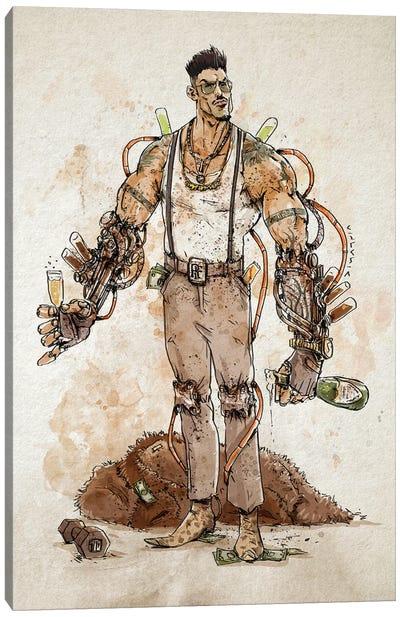 Rusty Commander Fort Canvas Art Print