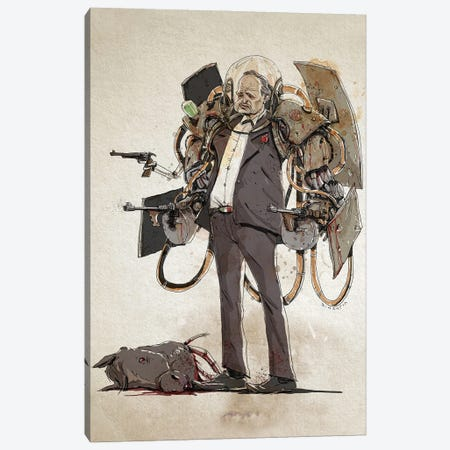 Rusty Godfather Canvas Print #NMT22} by Nico Di Mattia Canvas Print