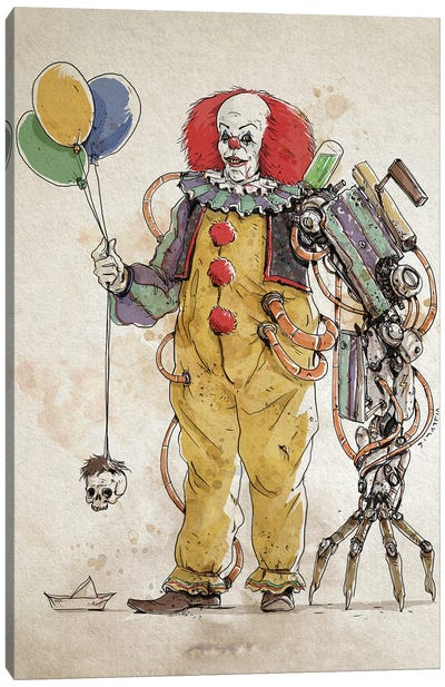 Rusty Pennywise 1 Canvas Art Print