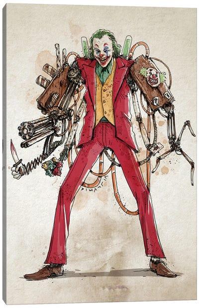 Rusty Joker Canvas Art Print