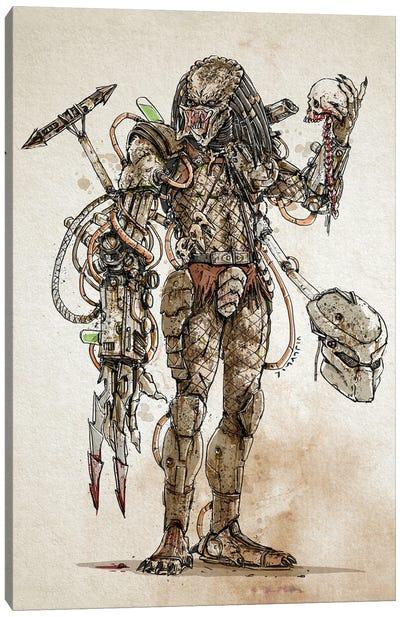 Rusty Predator Canvas Art Print