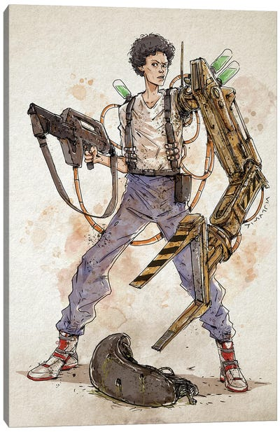 Rusty Ripley Canvas Art Print