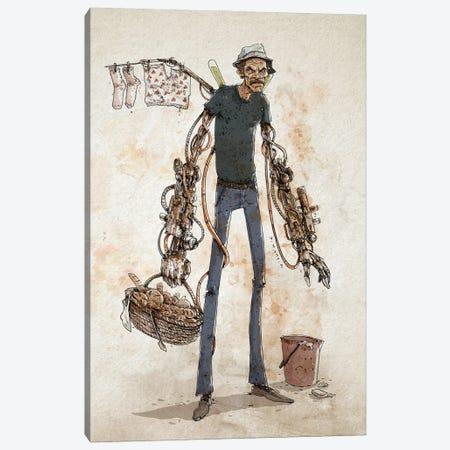 Rusty Ron Damon Canvas Print #NMT39} by Nico Di Mattia Canvas Artwork