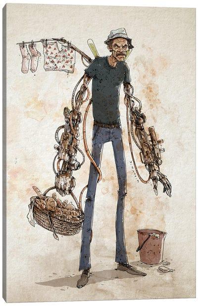 Rusty Ron Damon Canvas Art Print