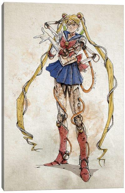 Rusty Sailor Moon Canvas Art Print