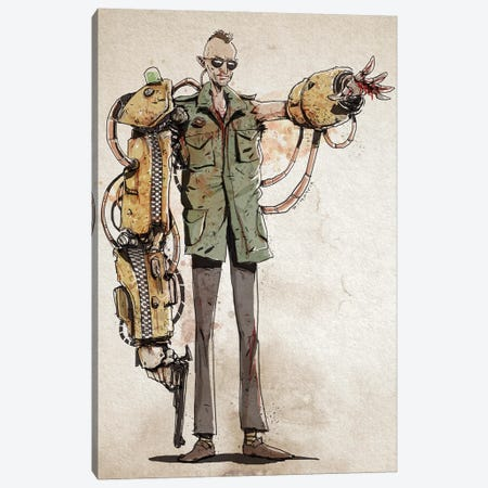 Rusty Taxi Driver Canvas Print #NMT42} by Nico Di Mattia Art Print