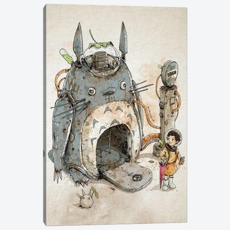 Rusty Totoro Canvas Print #NMT43} by Nico Di Mattia Canvas Print