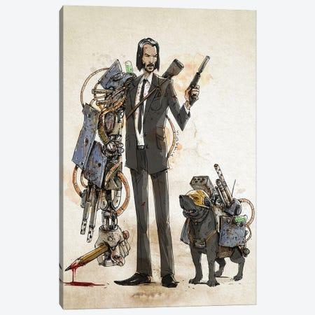 Rusty Wick Canvas Print #NMT45} by Nico Di Mattia Canvas Artwork