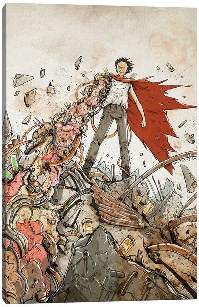 Rusty Tetsuo Canvas Art Print