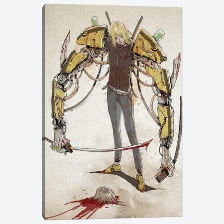 Rusty Beatrix Kiddo Canvas Print #NMT4} by Nico Di Mattia Art Print