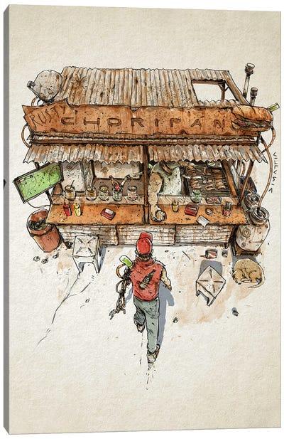 Rusty Choripan Canvas Art Print