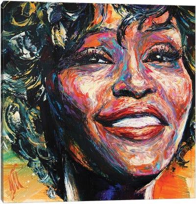 Whitney Houston Canvas Art Print
