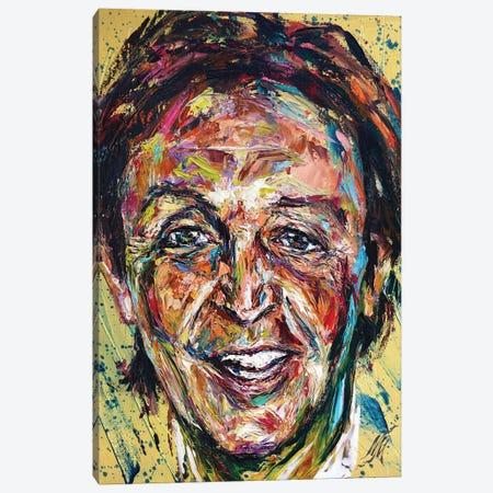 Paul Mccartney Canvas Print #NMY102} by Natasha Mylius Canvas Wall Art