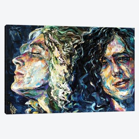 Led Zeppelin Canvas Print #NMY107} by Natasha Mylius Canvas Art Print