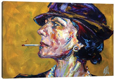 Coco Chanel Canvas Art Print