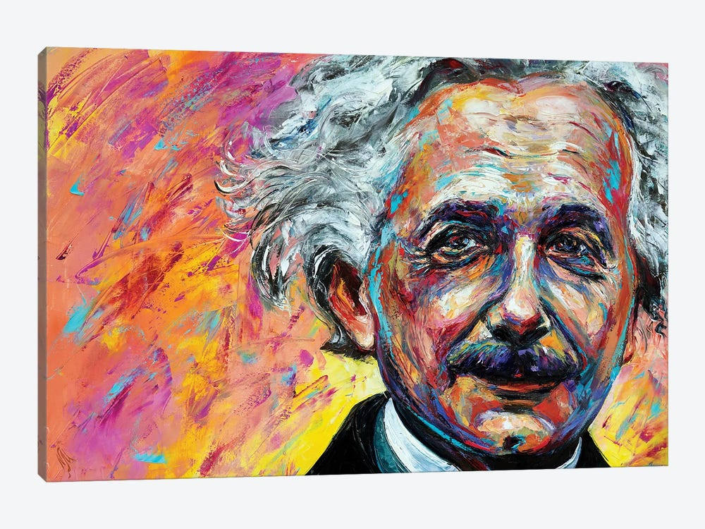 Einstein by Natasha Mylius 1-piece Art Print