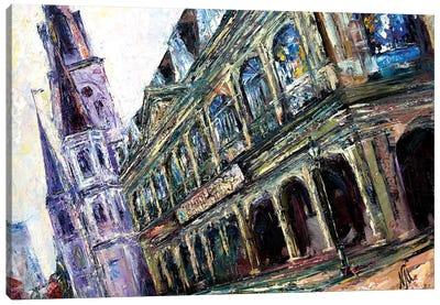 In The Heart Of The French Quarter Canvas Art Print