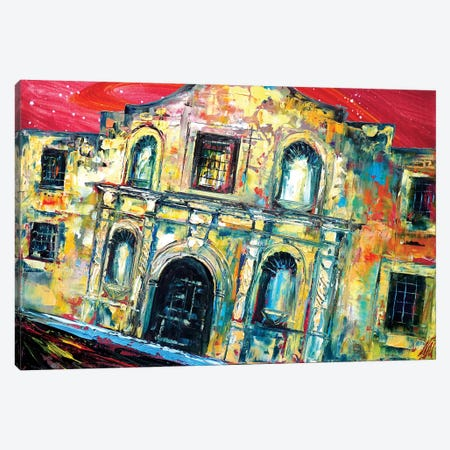 Alamo 3-Piece Canvas #NMY1} by Natasha Mylius Art Print