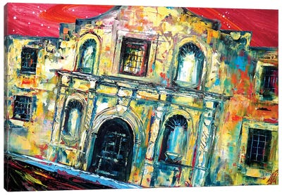 Alamo Canvas Art Print
