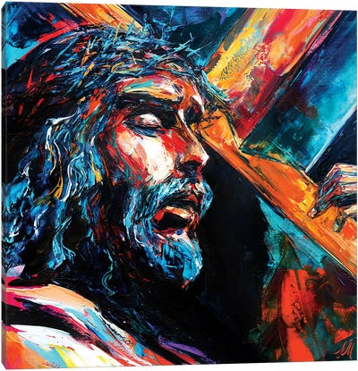 Jesus Christ Canvas Art Print