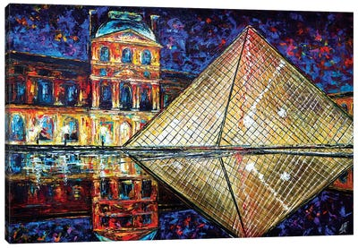 Louvre Canvas Art Print