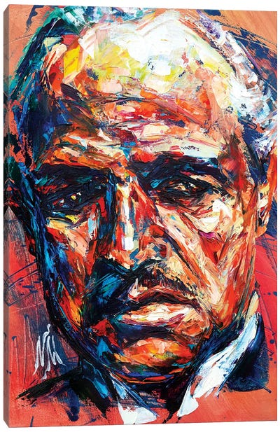 Marlon Brando Canvas Art Print