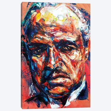 Marlon Brando Canvas Print #NMY27} by Natasha Mylius Art Print