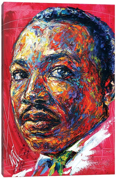 MLK Canvas Art Print