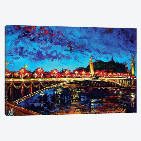 Alexander Ill Bridge Canvas Print #NMY2} by Natasha Mylius Canvas Print