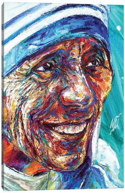 Mother Teresa Canvas Art Print
