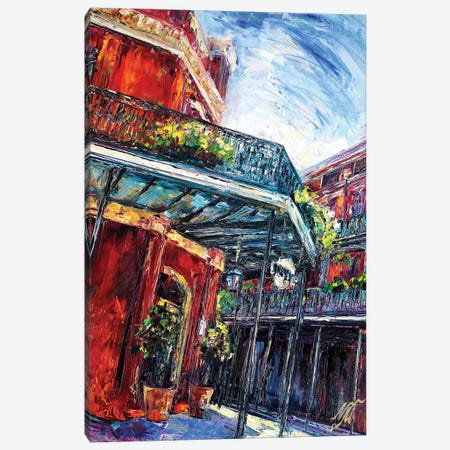 Muriels Canvas Print #NMY31} by Natasha Mylius Canvas Art Print