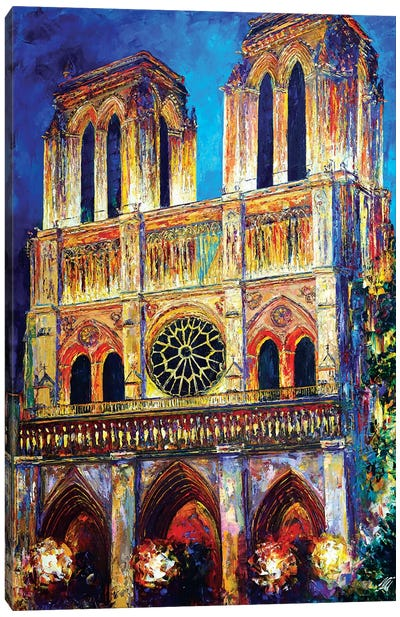 Notre Dame II Canvas Art Print