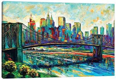 NYC Skyline Canvas Art Print