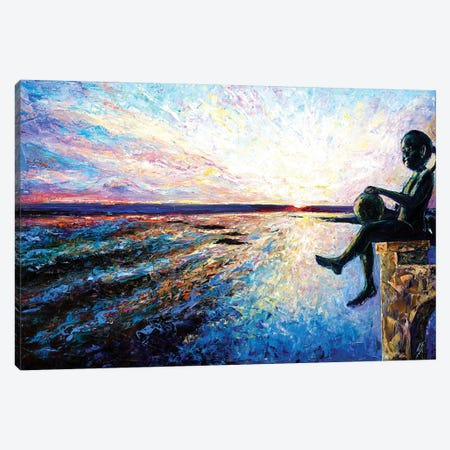 Oasis Canvas Print #NMY37} by Natasha Mylius Canvas Wall Art