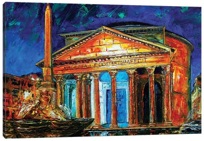 Pantheon Canvas Art Print