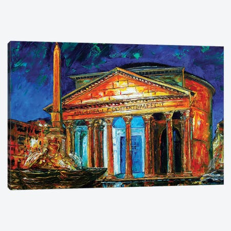 Pantheon Canvas Print #NMY39} by Natasha Mylius Canvas Art Print