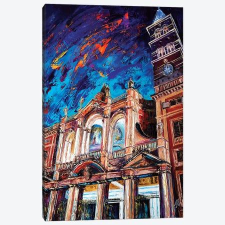 Basilica di Santa Maria Maggiore Canvas Print #NMY3} by Natasha Mylius Art Print