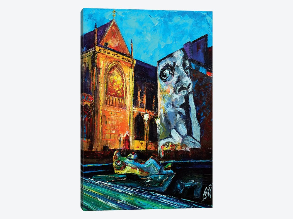 Place Igor Stravinsky by Natasha Mylius 1-piece Canvas Wall Art