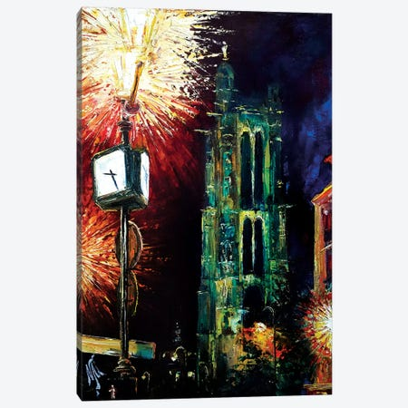 Saint Jacques Tower Canvas Print #NMY46} by Natasha Mylius Canvas Art Print