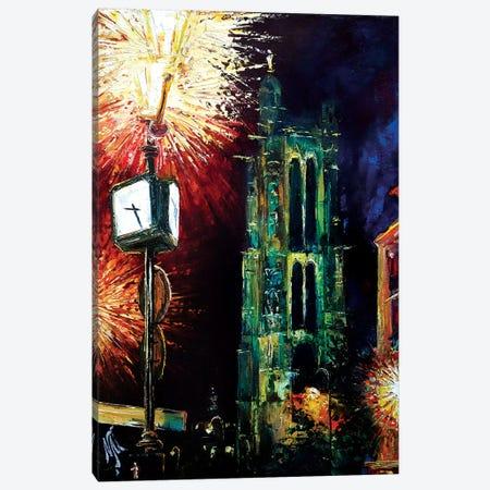 Saint Jacques Tower Canvas Print #NMY46} by Natasha Mylius Canvas Art Print